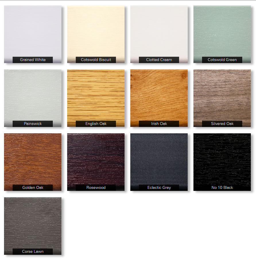 Residence 9 colour options
