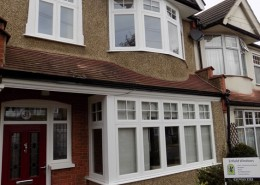 R9 window installation in Enfield
