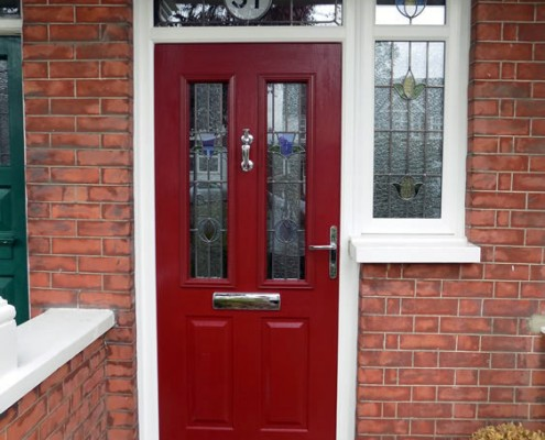 Solidoor composite door external view
