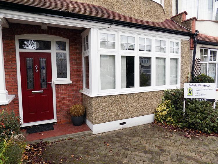 Residence 9 windows in north London Solidoor composite door ... & Residence 9 windows installed in Enfield north London