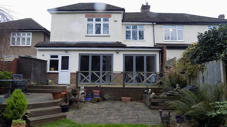 Origin Easifold Bifold Doors In Winchmore Hill North London