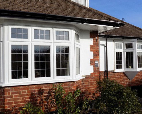 UPVC windows in cuffley