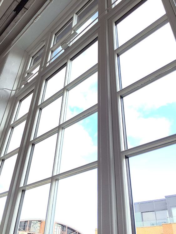 Residence 9 windows supplied and installed in london - Commercial interior doors with window ...