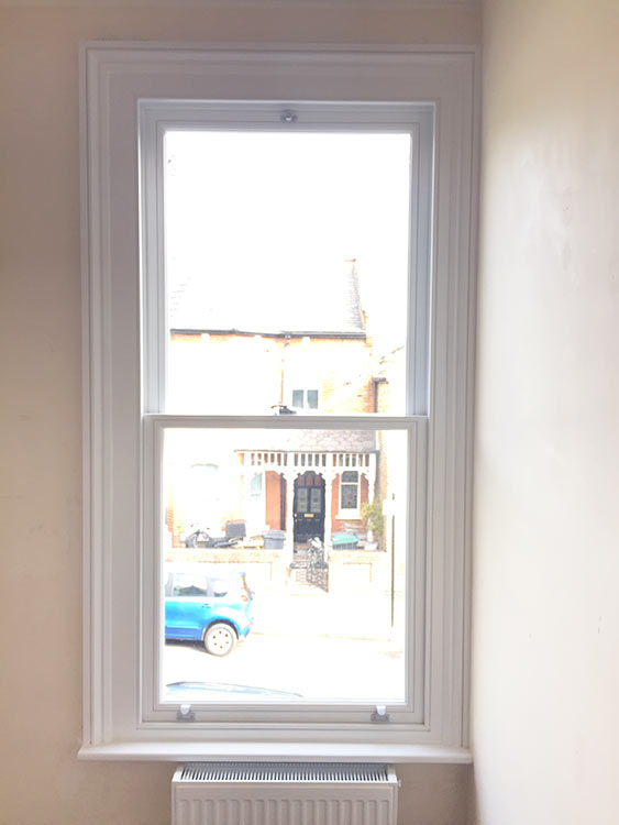 Timber Sash Window Installation In London