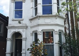 Timber windows installation in London
