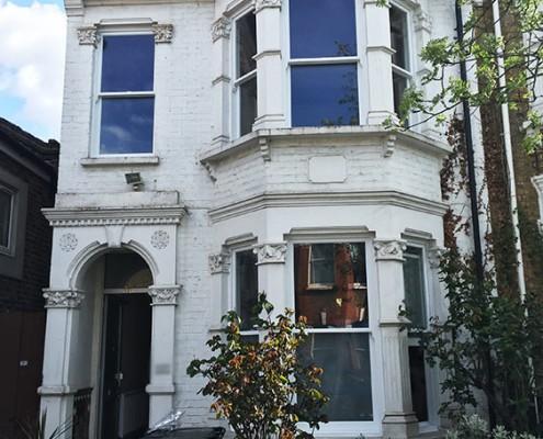 Timber windows installation in London