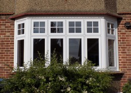 Exterior view of Residence 9 window