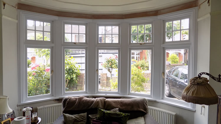 Replacement timber windows in winchmore hill north london for House plans with window views