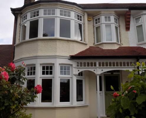 Replacement timber bay windows