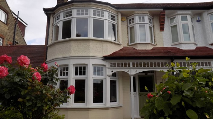 Replacement timber bay windows