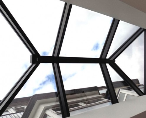 Interior view of Atlas skylight