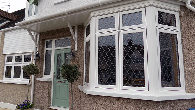 Residence 9 window installation in winchmore hill london for North windows and doors