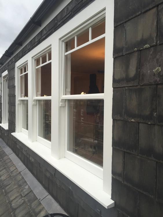 Timber Sash Window Installation In Highgate North London