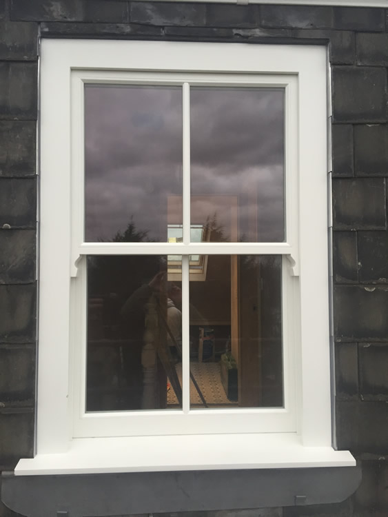 Timber Sash Window Installation In Highgate North London
