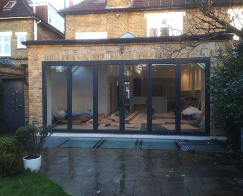 Bifold doors in fulham