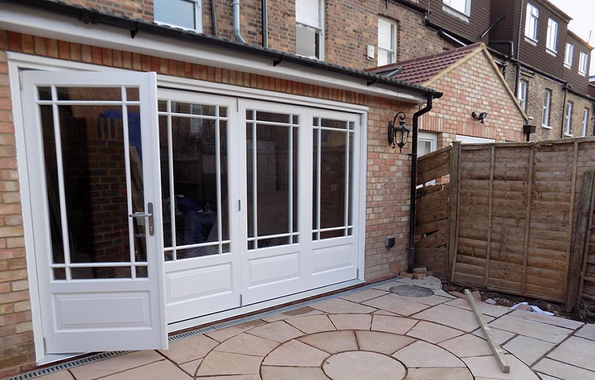 Bifold Door Installation : Bifold door installation in ealing london enfield windows
