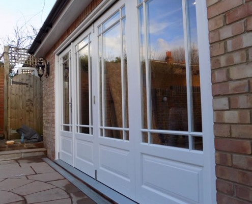 Timber bifold doors ealing