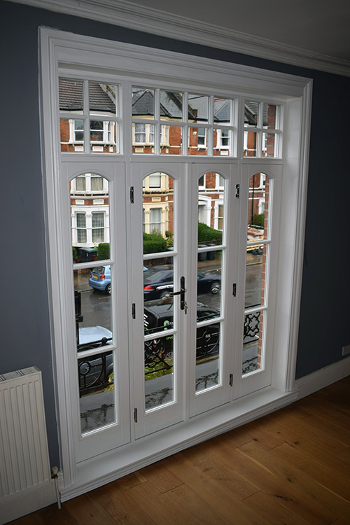 Finsbury park timber windows and french door installation - Guide to french interior doors installation ...
