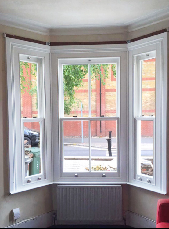Timber Sash Window Installation In Walthamstow North London
