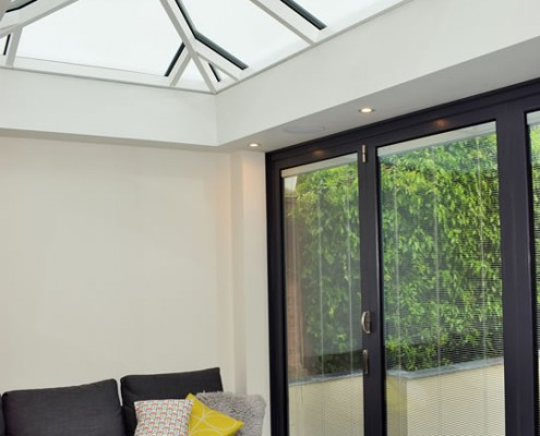 Conservatory with skylight in Hertfordshire