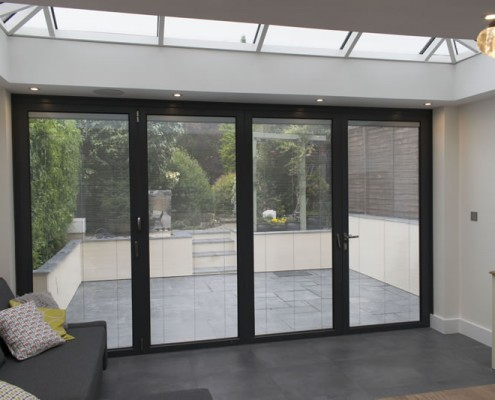 Internal view of conservatory in Hertforshire