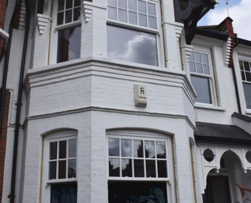 Sash window installation north london