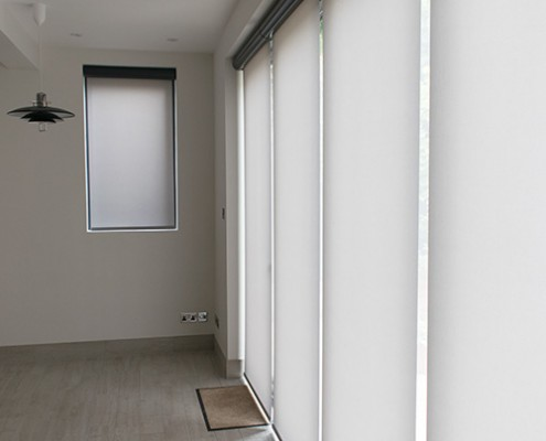 Grey Origin bifold door
