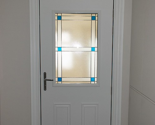 White Masterdor front door