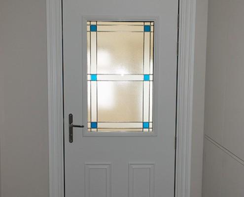 White Masterdor front door