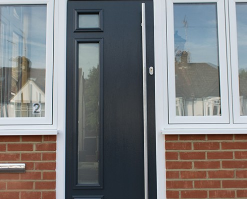 Casement windows solidor door and bifold doors fitted in for Composite windows