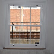 Sash window installation in north London