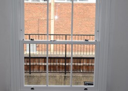 Sash window installation in north London
