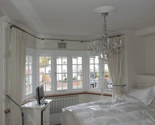 Casement timber window installation