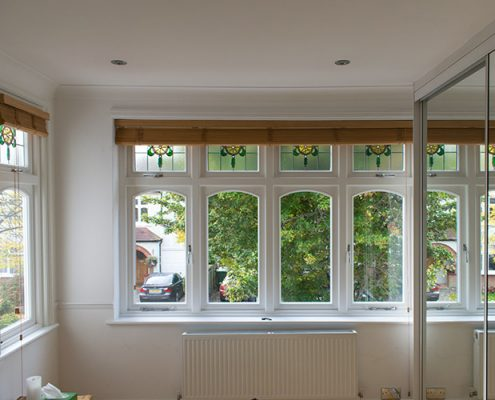 Pinner timber casement window installation interior
