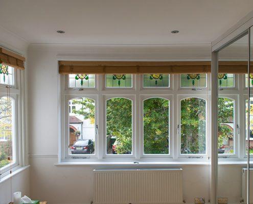 Pinner timber casement window installation interior
