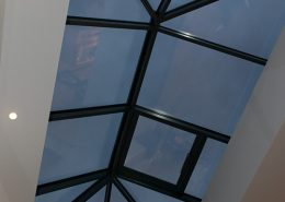 Interior view of skylight