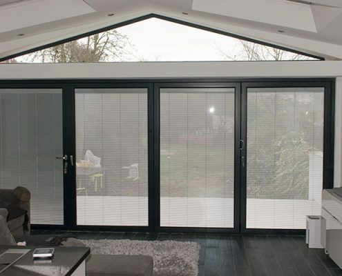 Aluminium Origin bifold door installation Chingford