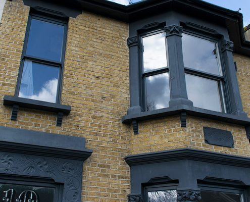 Timber windows in Leytonstone North London