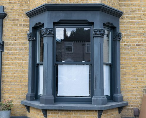 Timber sash window installation london
