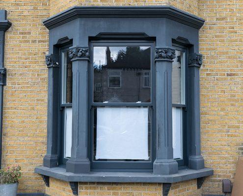 Timber sash window installation london