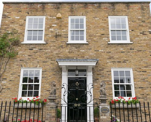 Timber windows in Muswell Hill