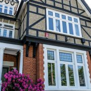 Timber window installation in Chingford