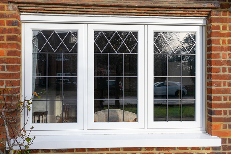 Double glazed timber window