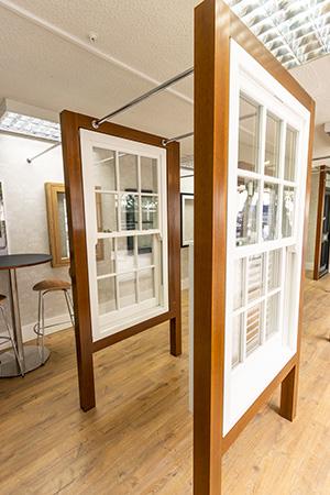 Double glazed timber windows