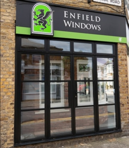 Enfield Windows showroom