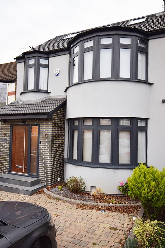 Bay windows and composite front doors