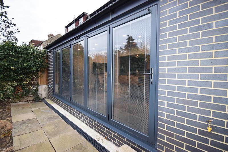 Origin bi-fold doors installation