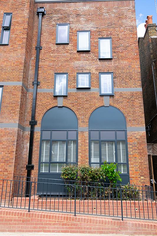 Bespoke curved double glazed windows