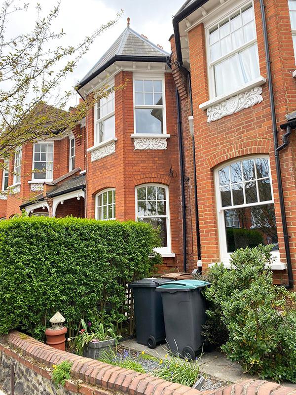 Sash windows installation in North London