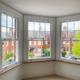 Interior view of uPVC sash windows